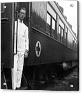 Ww I: Red Cross Railroad Acrylic Print