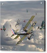 Ww1 - 'wings' Acrylic Print