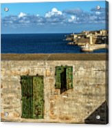 Ww2 Fortification Door Acrylic Print