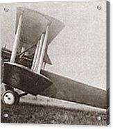 Wwi: British Bomber Acrylic Print