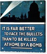 Wwi: Poster, 1915 Acrylic Print