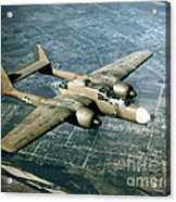 Wwii, Northrop P-61 Black Widow, 1940s Acrylic Print