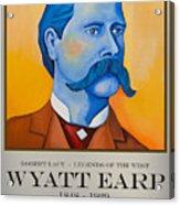 Wyatt Earp Poster Acrylic Print