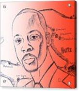 Wyclef Jean For President Of Haiti  Acrylic Print