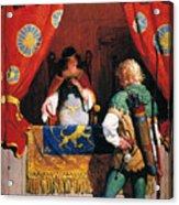 Wyeth: Robin Hood & Marian Acrylic Print