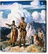 Wyeth: Sacajawea Acrylic Print