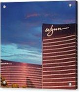 Wynn And Encore In Las Vegas Acrylic Print