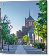 Wynn Commons - University Of Pennsylvania Acrylic Print