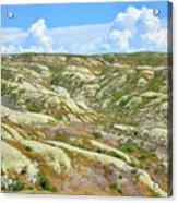Wyoming Badlands Acrylic Print
