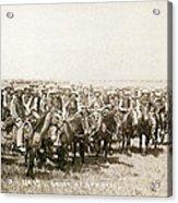 Wyoming: Cowboys, C1883 Acrylic Print