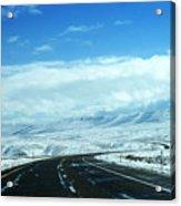 Wyoming In September Acrylic Print