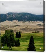 Wyoming Landscape 51a Acrylic Print