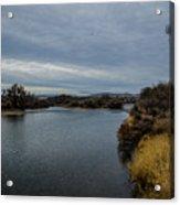 Wyoming Morning River Acrylic Print