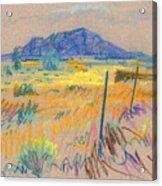 Wyoming Roadside Acrylic Print
