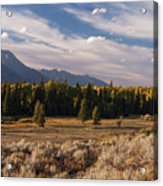 Wyoming Scenery One Acrylic Print