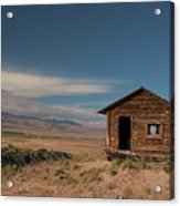 Wyoming Shack Acrylic Print