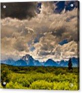 Wyoming Sky Acrylic Print