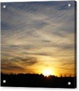 Wyoming Sunrise Acrylic Print