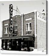 Wyoming Theater 2 Acrylic Print