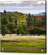 Wyoming Valley Acrylic Print