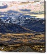 Wyoming Viii Acrylic Print