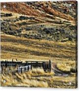 Wyoming X Acrylic Print