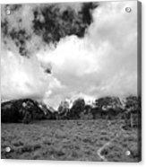 Wyoming's Big Sky Acrylic Print