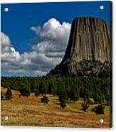 Wyoming's Devil's Tower Acrylic Print