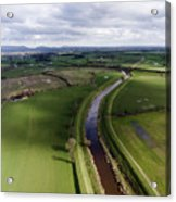 Wyre From The Air Acrylic Print