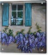 Wysteria View Acrylic Print