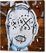 X Eyes Acrylic Print