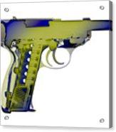 X-ray Art Of Walther P38 No.5 Acrylic Print