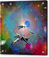 X-wing Fighter Acrylic Print