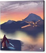 X-wing On The Horizon Acrylic Print