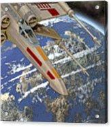10105 X-wing Starfighter Acrylic Print