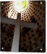 Xcaret Cemetery Catacomb Acrylic Print