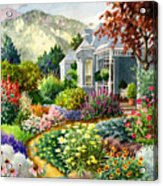 Xeriscape Garden Acrylic Print