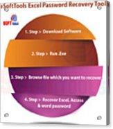 Xlsx Password Recovery Acrylic Print