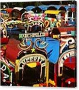 Xochimilco Acrylic Print