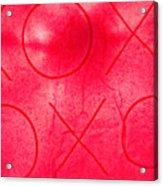 Xoxo 1 Acrylic Print