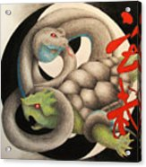 Xuan Wu Acrylic Print by Lauren Cawthron
