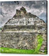 Xunantunich  El Castillo Acrylic Print