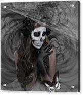 Who Will Want My Painful Soul 001 Acrylic Print