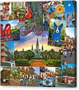 Ya Gotta Love New Orleans 2 Acrylic Print