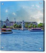 Yacht And Beach Club Walt Disney World Acrylic Print