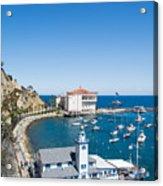 Yacht Club And The Casino Acrylic Print