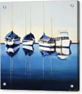 Yacht Harbor Acrylic Print