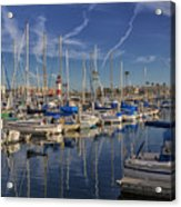 Yachts And Things Acrylic Print
