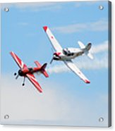 Yak 55 And Yak 18 Acrylic Print