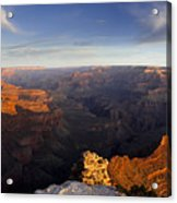 Yaki Point Panorama Acrylic Print by Andrew Soundarajan
